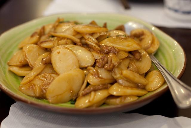 Stir fried rice cakes