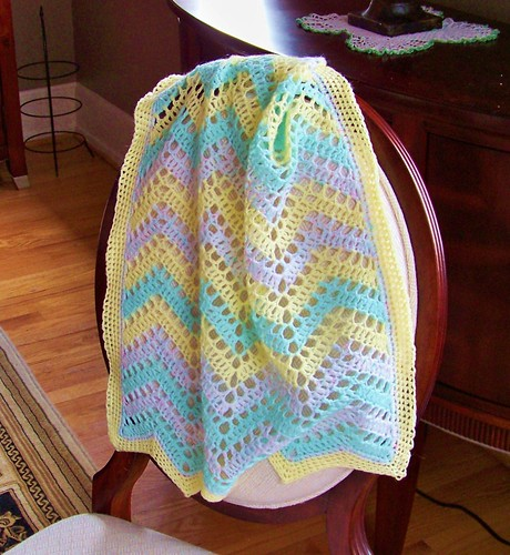 Ripple baby blanket 2