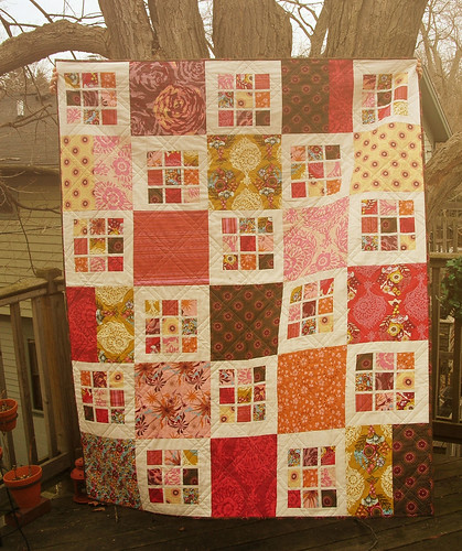 Sunshine Innocent Crush Quilt