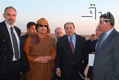 Mideast Israel Coddling Gadhafi