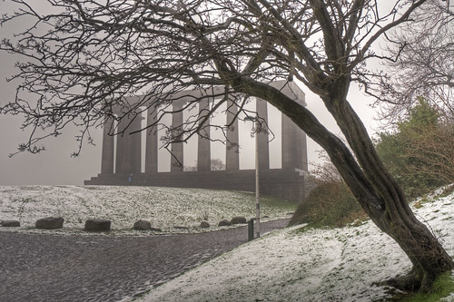 Fog on Calton