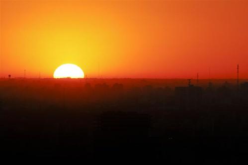 Puesta del Sol desde 90 mts de altura by Diego Eidelman