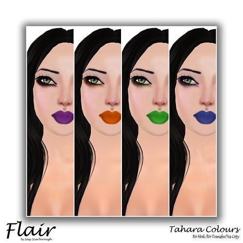 Flair - Tahara Colour Pic