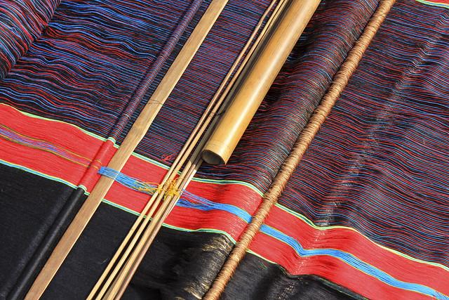 sari weaving