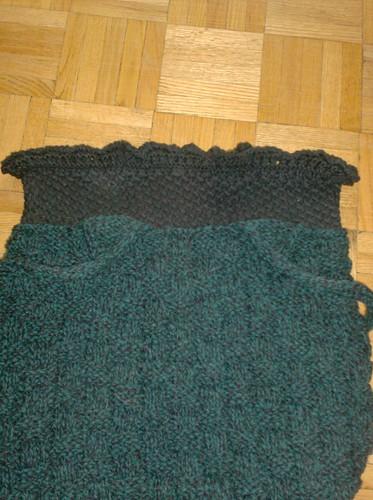 Shadowed Cypress Project Bag - Top