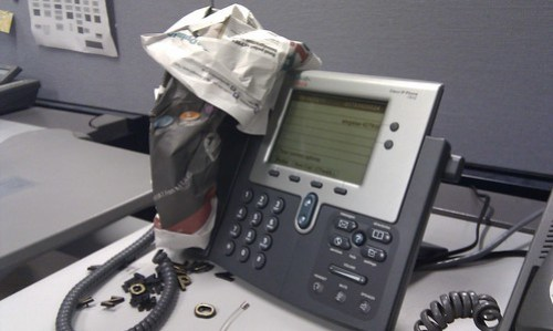 Wrapped Headset
