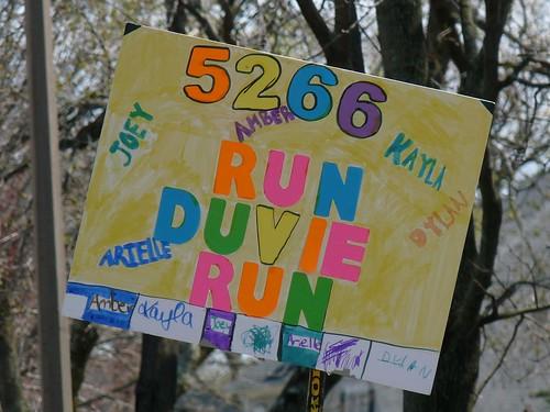 Run, Duvie, run