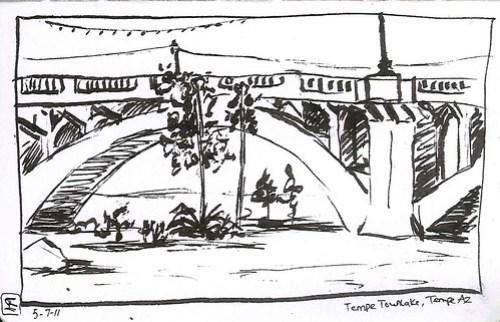 Mill Ave Bridge, Tempe