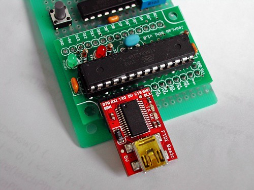 Simple timer with FTDI breakout brd