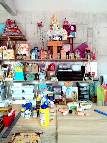 Um dia no atelier / One day at my atelier