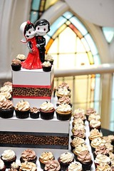 cupcakes from We Bake In Heels