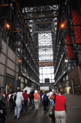 Inside the VAB, Kennedy Space Center, Florida