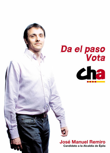 José Manuel Remiro, candidato a la Alcaldía de Épila