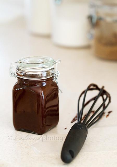 Bourbon Chocolate Sauce