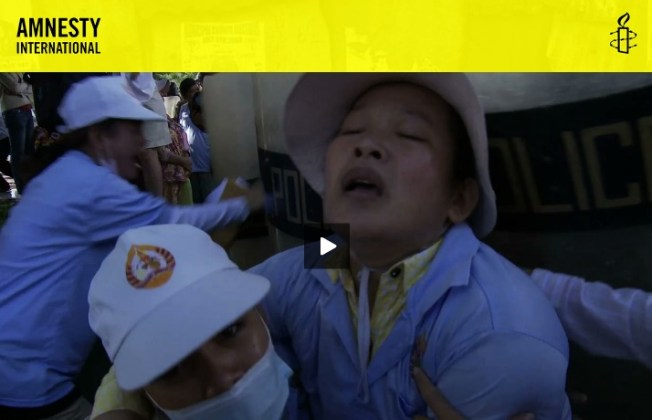 Amnesty International video on Boeung Kak Lake