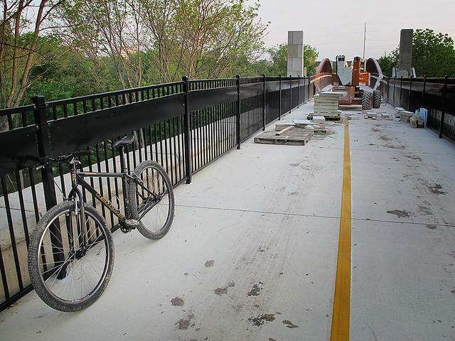 Bridge Still Being Worked On