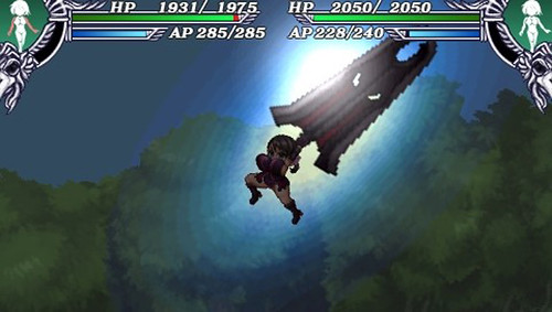 Queen's Blade : Spiral Chaos - attack 10