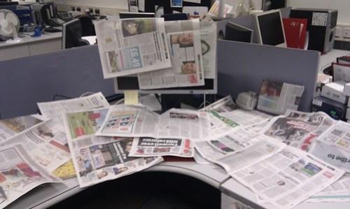 Newspaper Trail