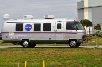 Astro Van, NASA Tweetup, Kennedy Space Center, April 29, 2011