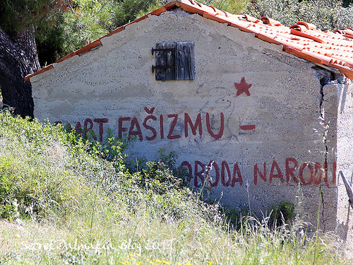 Death to fascism, freedom to people