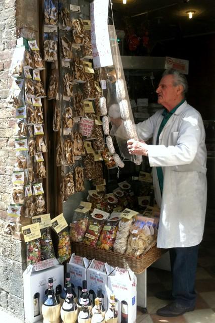 Shop in San Gimignano