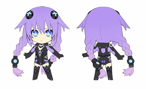 Design of Nendoroid Petit Purple Heart (Neptune)
