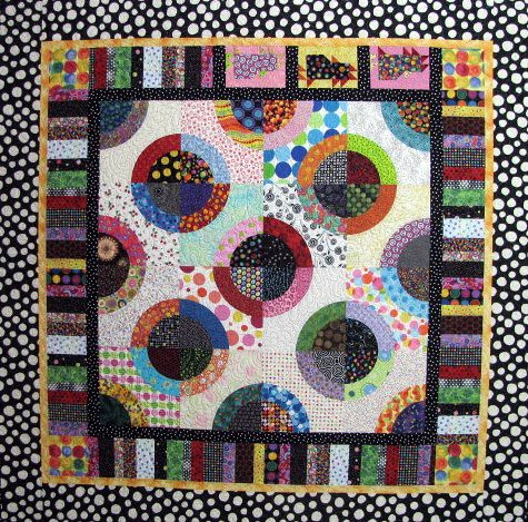 Dotsie Chicks May Gallery Exhibit @Quiltworks