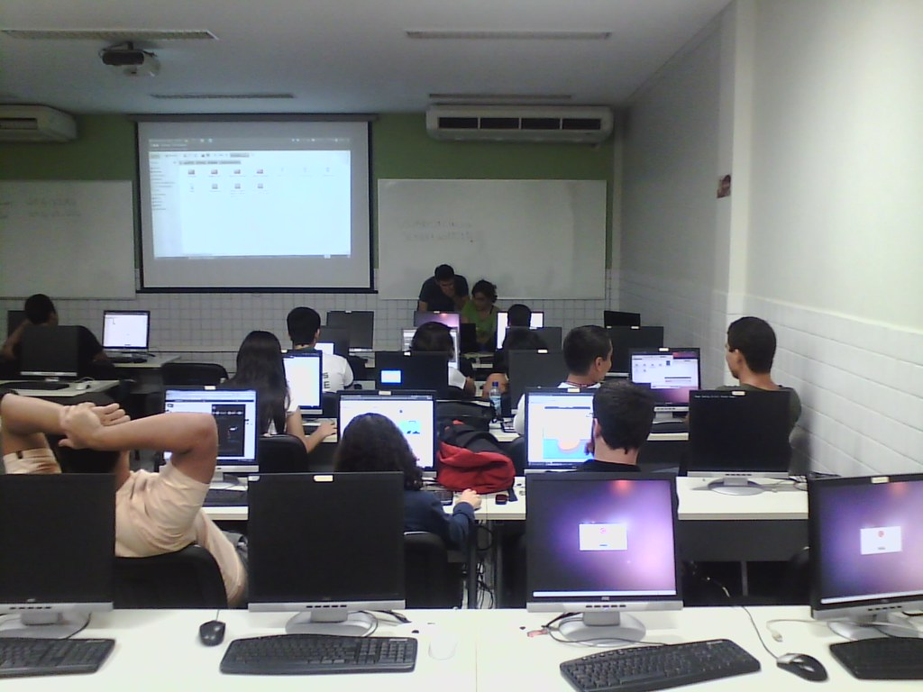 Curso de Pygame no Workshop do Centro de Informática