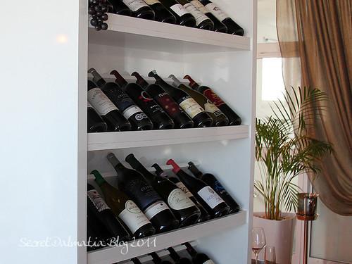 Nice wine selection