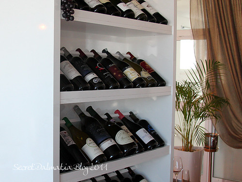 Nice wine selection