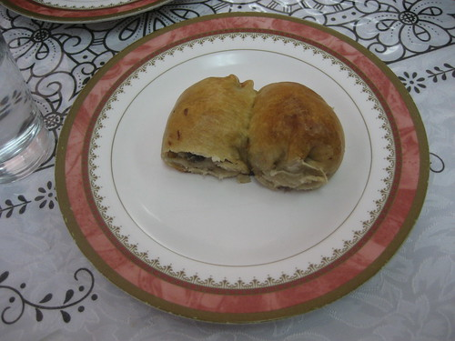 two meat pockets