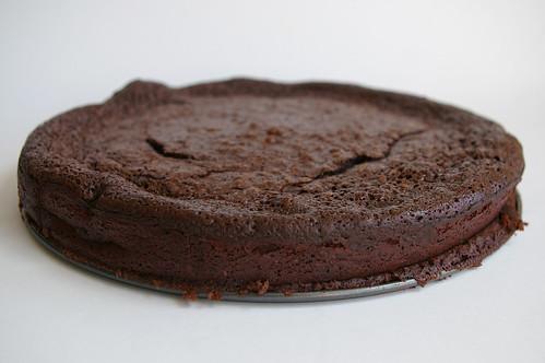 Slumped cake