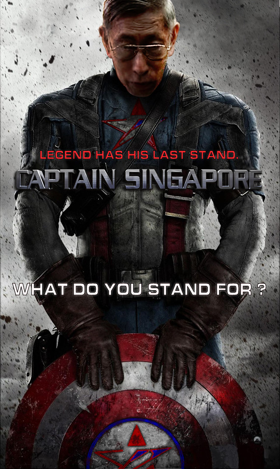 "Chiam See Tong as ""Captain Singapore"""