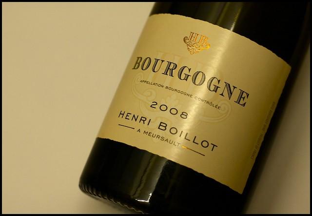 Henri Boillot 2008 Bourgogne Blanc