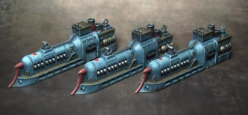 Empire of the Blazing Sun Cruisers