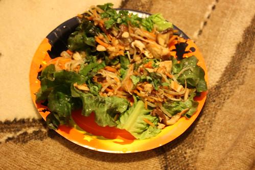 thai chicken wraps 004