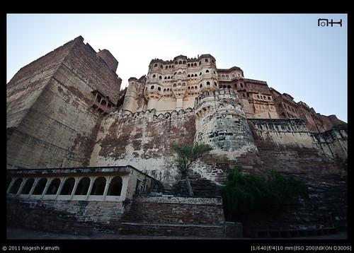 Imposing Meherangarh