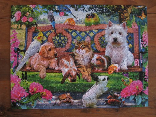 yes! awesome animal puzzle finished