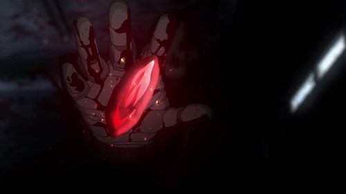12. The bloody stone.