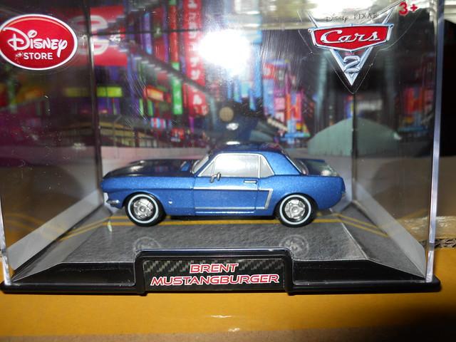 DISNEY STORE CARS 2 BRENT MUSTANGBURGER
