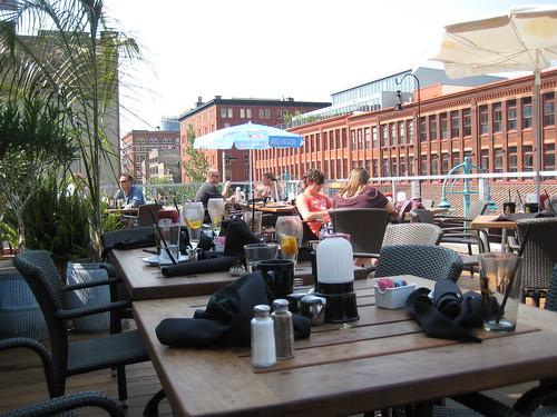 Cafe Benelux rooftop Milwaukee