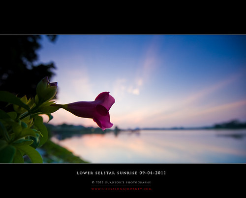 Lower Seletar Reservoir Sunrise 09-04-2011 #5