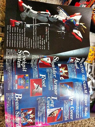 Building 1-60 Shining Gundam HGEX (4)