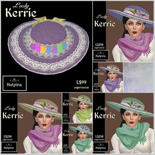 Hatpins - Lady Kerrie Hat