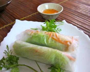 salad spring roll
