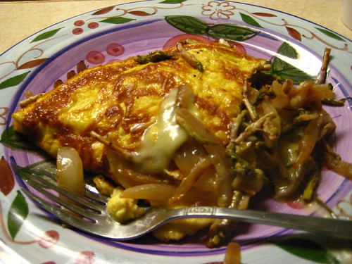 fireweed shoot omelette