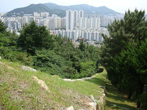 Dongnae waeseong and city wall 동래 읍성 - 왜성
