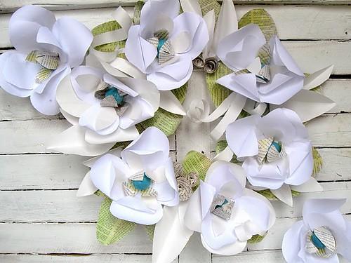 white paper magnolias