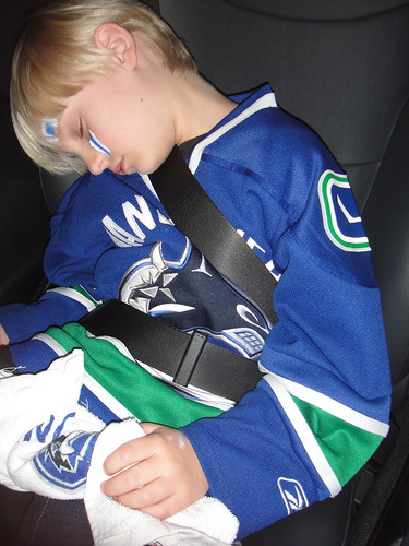 One tired Canuck