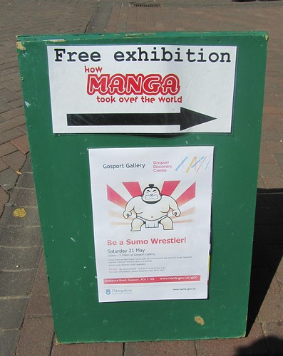Mange exhibition and sumo wrestling this way!